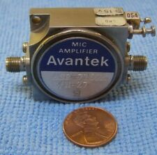 AVANTEK MIC SOLID STATE AMPLIFIER MODEL ASF-7169M.