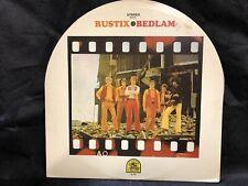 "THE RUSTIX ""Bedlam"" og Rare Psych Rock lp on Rare Earth 1969"