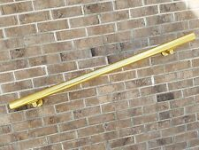 B52 Gold Anodized Handrail Aluminum Stairs Kit 6 Ft and 1.6