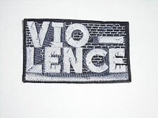 VIO-LENCE THRASH METAL EMBROIDERED PATCH
