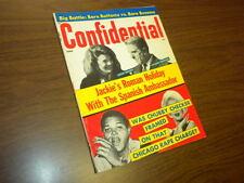 CONFIDENTIAL magazine 1966 June - movies tv politics actors sex