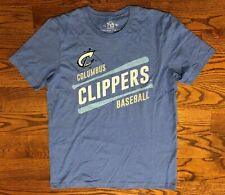 Columbus Clippers MiLB Baseball 108 Stitches T-Shirt Men's Large NWOT