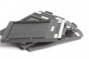 4 Stück Toyo Cut Film Holder 9x12cm Doppelplanfilmkassetten