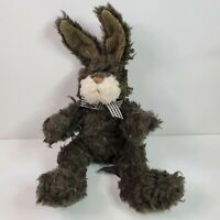 Vintage RUSS FRIZZLE Stuffed Jointed Bunny Rabbit Stuffed Animal Plush 15+""