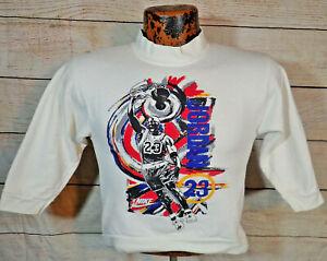 "Vtg 90s NIKE Michael Jordan Jumpman Air Jordan Sweatshirt Boys L USA 32"" Chest"