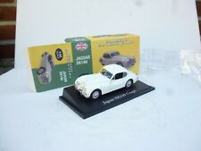1:43 ATLAS EDITIONS  JAQUAR XK 140 COUPE IN WHITE  M BOX