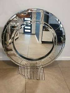 Art Deco Round Decorative Mirrors For Sale Shop With Afterpay Ebay
