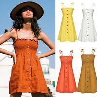 Dress Summer Evening Party Short Beach Boho Cocktail Women's Sundress Maxi
