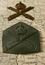 Rare WW1 British Army MGC Heavy lead mold pattern & cast Badge Machine Gun Corps