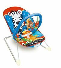 Baby bouncer Zippy Zebra Rocker sedia con musica rilassante, vibrazioni e Giocattoli