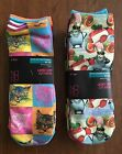 new 2 No Bonndaries 6 pair Ladies Low cut socks fits shoe size 4-10 walmart