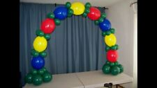 DELUXE BALLOON ARCH KIT- NO HELIUM REQUIRED - PERFECT FOR FOOD TABLE