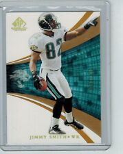 2004 SP GAME USED JIMMY SMITH #46 GOLD 009/100 JACKSONVILLE JAGUARS