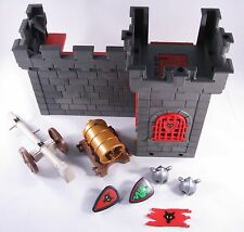 PLAYMOBIL 5794 KNIGHT'S DUNGEON HUGE CANON - GOOD CONDITION - INCOMPLETE