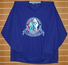 Ed Walsh Hockey Schools CCM Authentic Blue Hockey Jersey - XL