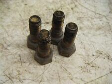 71 FIAT 850 CONVERTIBLE LUG NUTS USED SPIDER OLD VINTAGE