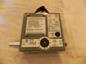 ALLIED HEALTHCARE EPV100 PORTABLE VENTILATOR NEW BATTERIES 30 DAY WARRANTY
