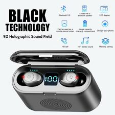 Wireless Headphones Bluetooth 5.0 Earphones Earbuds Mini In Ear Samsung iPhone