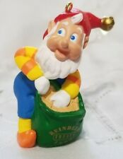 Hallmark 1996 Keepsake Ornament Collector's Club Rudolph's Helper Original Box