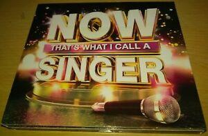 Now That's What I Call A Singer 3 CD Sia Rita Ora James Bay Whitney Houston Cher