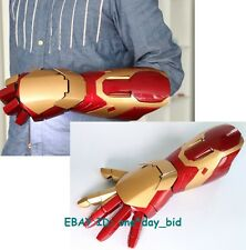 Hot Cattoys 1:1 Iron Man mk42 Arm with Laser Device+palm light+sound Effect Hero