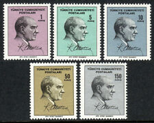 Turkey 1689-1693, MNH. Kemal Ataturk, 1965