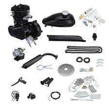 50CC 2 Cycle Petrol Gas Engine Motor Kit for Motorized Bicycle Bike Black Body