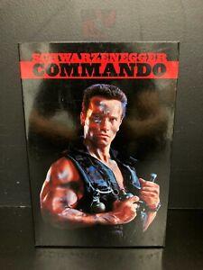 Commando Action Figure Schwarzenegger NECA  7 inch NEW 2015