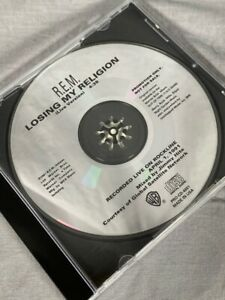 REM Losing My Religion Promo CD Single Live Version Out Of Time 1991 Warner Bros