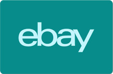 eBay Digital Gift Card - Teal, One Card So Many Options  - Email Delivery
