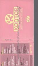 CD--VARIOUS -- --3CD SET -- KONTOR TOP OF THE CLUBS VOL.59