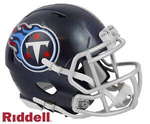 Tennessee Titans Riddell Speed Mini Football Helmet - New in Riddell Box