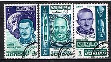 Jordan US Space Exploration Geminy stamps 1962