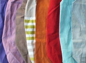Kissenbezug Kissenhülle Bezug für Nackenrolle Kissenrolle 20 x 45 Baumwolle NEU