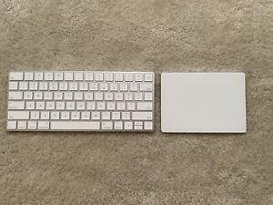 Apple Trackpad 2 & Apple Keyboard 2