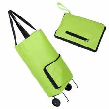 Shopping Bag Trolley Portable Convenient Grocery Storage Bags Reusable Foldable