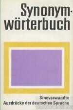 Synonymwörterbuch: Görner, Herbert und Günther Kempcke (Hrsg.)