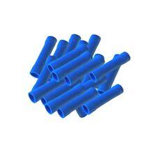 100x Stossverbinder isoliert 1,5 - 2,5 mm BLAU Quetschverbinder Stoßverbinder