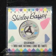 """Shirley Bassey - Goldfinger / I (Who Have Nothing) 7"""" Mint- 1045907 Germany EEC"""