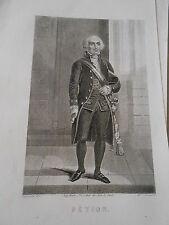 Gravure 19ème - Portrait de Pétion