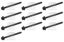 10x Cylinder Head Bolts Set for VW GOLF 1.6 00-06 1J ATN AZD BAD Mk4 Febi