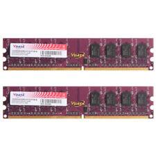New 4GB 2x2GB DDR2 800Mhz PC2-6400 Non-ECC PC Desktop Memory 240-pin CL6 RAM
