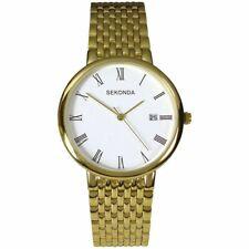 Sekonda Gents Watch Gold Tone Bracelet Date  3683 RRP £49.99