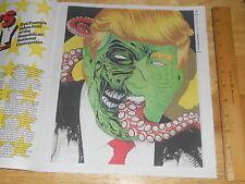 The Village Voice Donald Trump Illustration Taylor Callery Freak Satyricon 2016