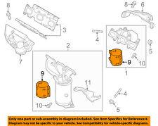 FORD OEM Exhaust Manifold-Lower Shield DA8Z5E258A