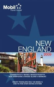 Mobil 2009 Travel Guide New England (Mobil Travel Guide)