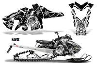 Polaris SKS Pro RMK Sled Decal Wrap Snowmobile Graphics Kit 2006-2010 HAVOC WHT