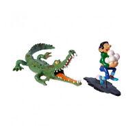 Gaston poursuivit par le crocodile FRANQUIN. Pixi 4742