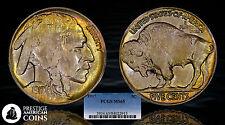 1917 5c Buffalo Nickel PCGS MS65 - Beautifully Toned Gem!