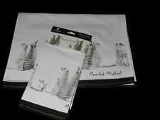 Souvenir Tea Towel Meerkat Mischief Family 100% Cotton Ashdene Australia